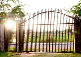 Beyond this gate lies opportunity...