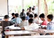Miriam's studious class.